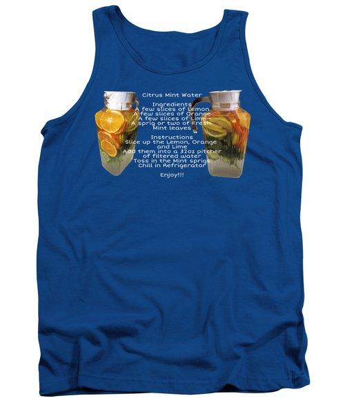 Citrus Mint Water Tank Top