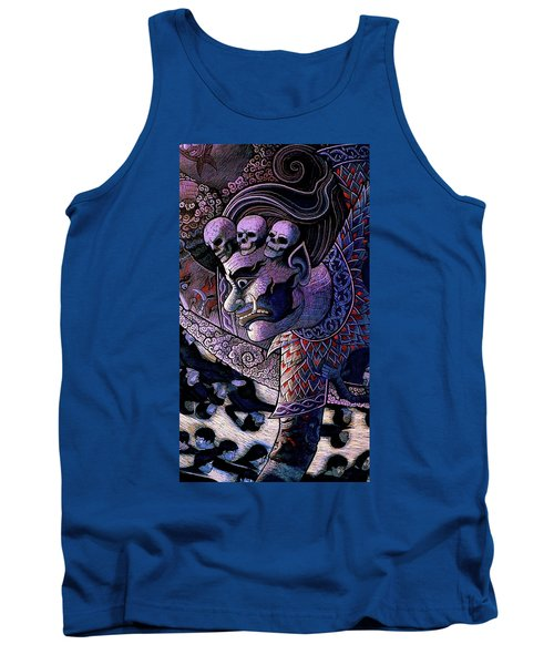 Claiming Lost Souls  Tank Top