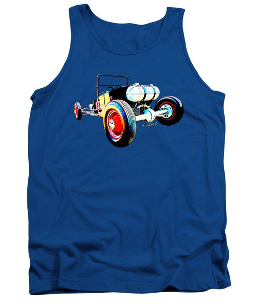 Classic Hot Rod T In A Stormy Sunset Tank Top