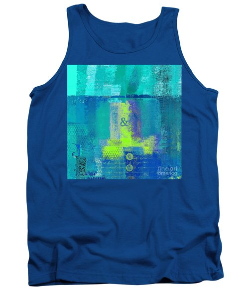 Tank Top featuring the digital art Classico - S03c26 by Variance Collections