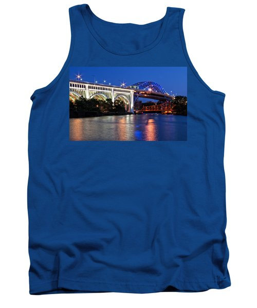 Cleveland Colored Bridges Tank Top
