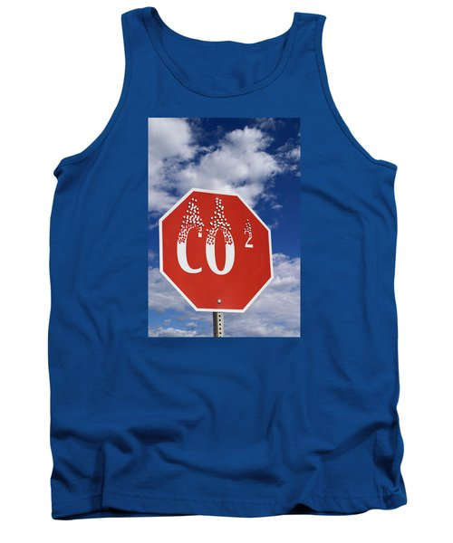 Climate Change Tank Top by George Robinson