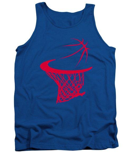 Clippers Basketball Hoop Tank Top