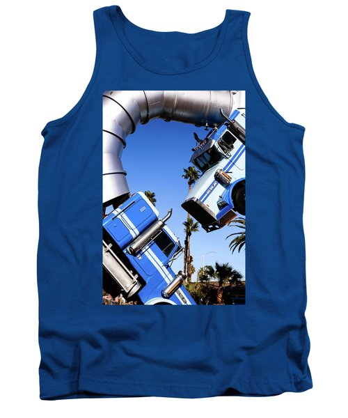 Closeup On Big Rig Jig Tank Top