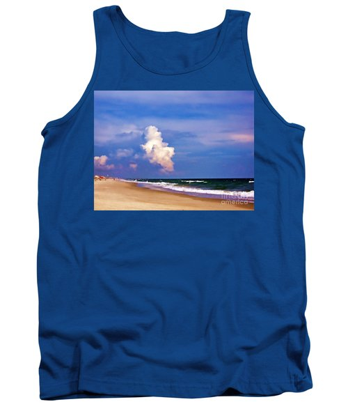 Tank Top featuring the photograph Cloud Approaching by Roberta Byram