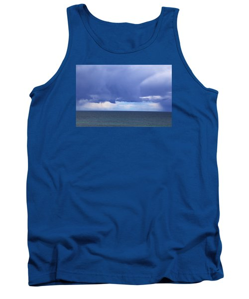 Tank Top featuring the photograph Cloud Curtain by Nareeta Martin