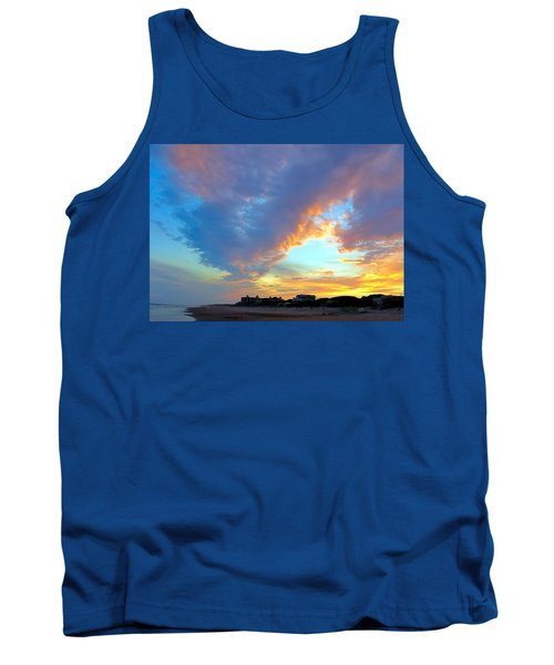 Clouds At Sunset Tank Top by Betty Buller Whitehead