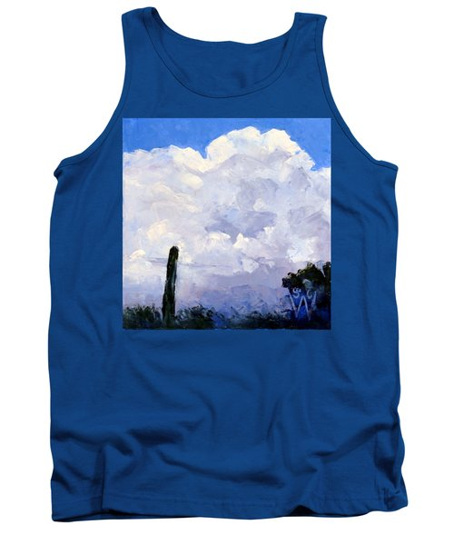 Clouds Building Tank Top