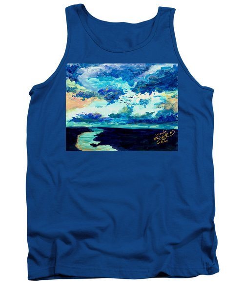 Clouds Tank Top by Melinda Dare Benfield