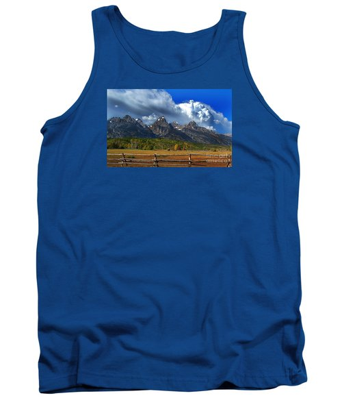 Tank Top featuring the photograph Clouds Rising by Diane E Berry