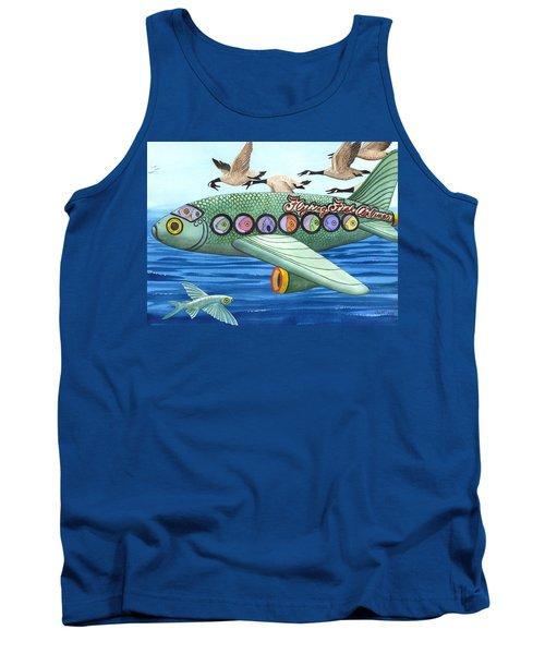 Cod Is My Co-pilot Tank Top