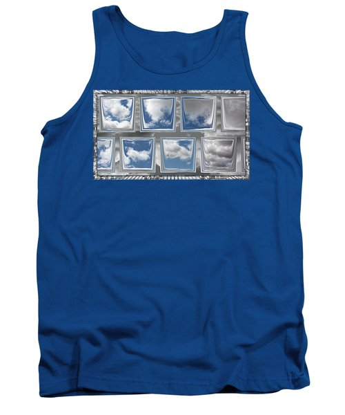 Tank Top featuring the digital art Collected Spring Mornings by Wendy J St Christopher