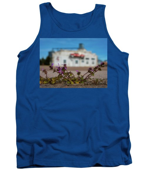 Tank Top featuring the photograph Collyer Sidewalk Blooms by Darren White