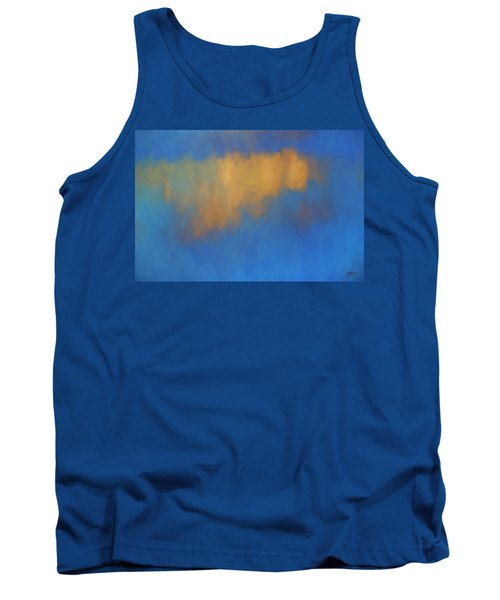 Tank Top featuring the digital art Color Abstraction Lvi by David Gordon