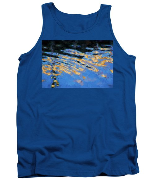 Tank Top featuring the photograph Color Abstraction Lxiv by David Gordon