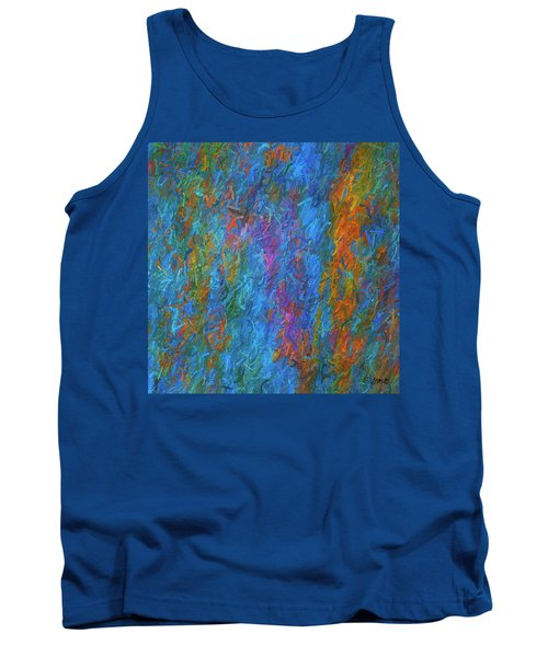 Color Abstraction Xiv Tank Top