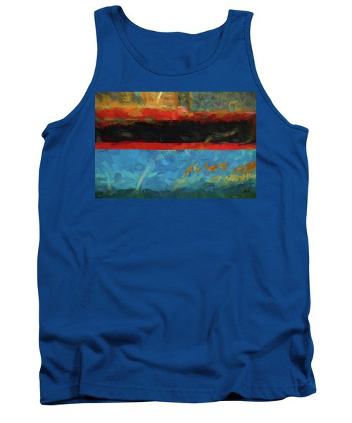 Tank Top featuring the photograph Color Abstraction Xxxix by David Gordon