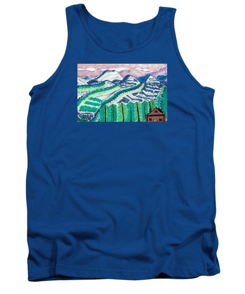 Colorado Cabin Tank Top by Don Koester