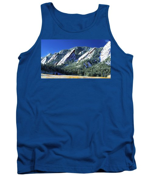 All Fivecolorado Flatirons Tank Top by Marilyn Hunt