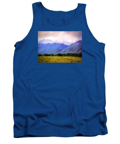 Colorado Harvest Watercolor  Tank Top