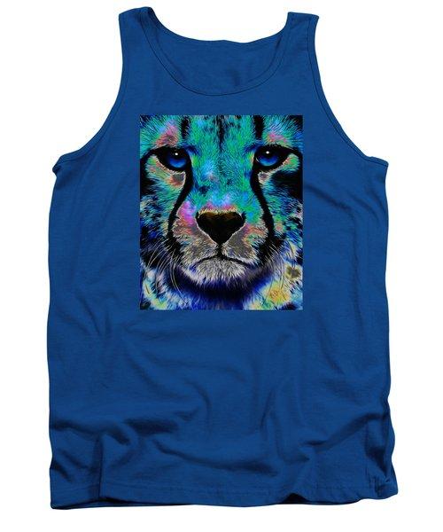 Colorful Cheetah Tank Top