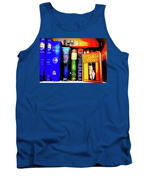 Tank Top featuring the photograph Colorful Classics by Toni Hopper