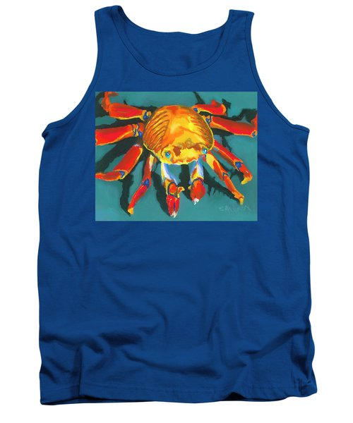 Colorful Crab II Tank Top