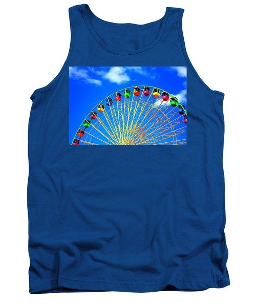 Colorful Ferris Wheel Tank Top