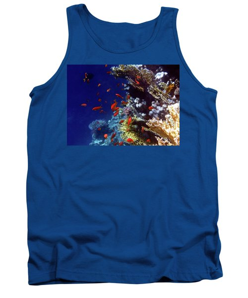 Colorful Lyretail Anthias Tank Top
