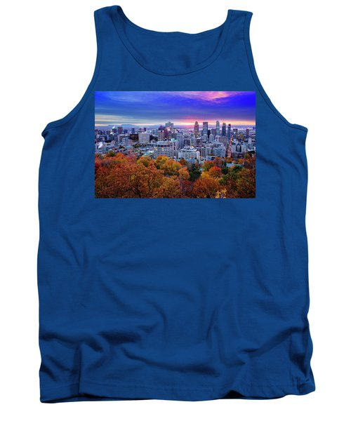 Tank Top featuring the photograph Colorful Montreal  by Mircea Costina Photography