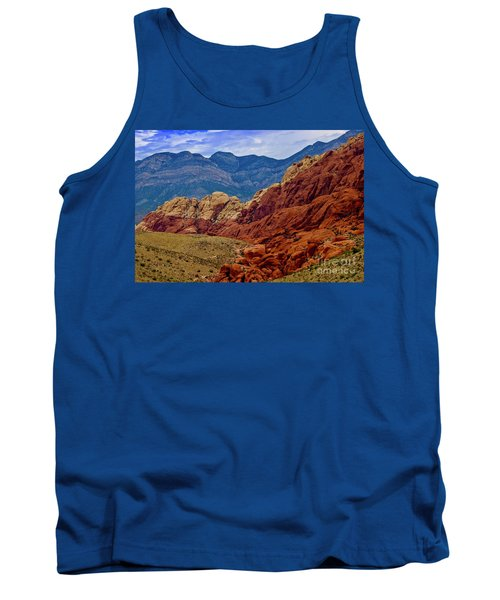Colorful Red Rock Tank Top