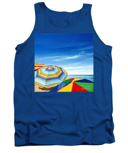 Colorful Sunshades Tank Top