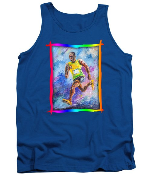 Colors Of Speed Tank Top