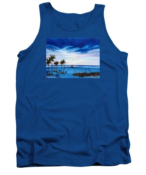Colors On The Gulf Tank Top by Lloyd Dobson