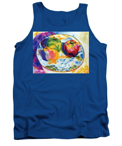 Colourful Trio Tank Top