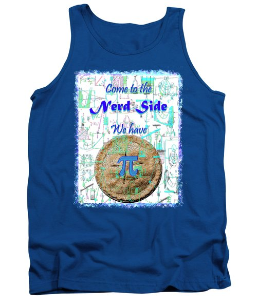 Come To The Nerd Side Tank Top by Michele Avanti
