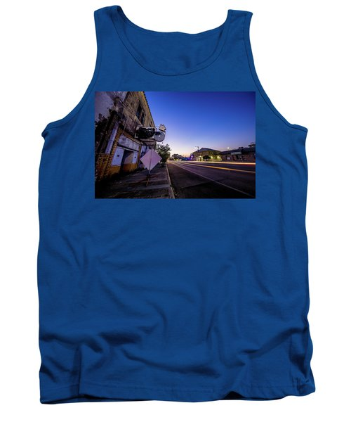 Commerce East Tank Top by Micah Goff