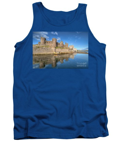 Conwy Castle Tank Top by Adrian Evans