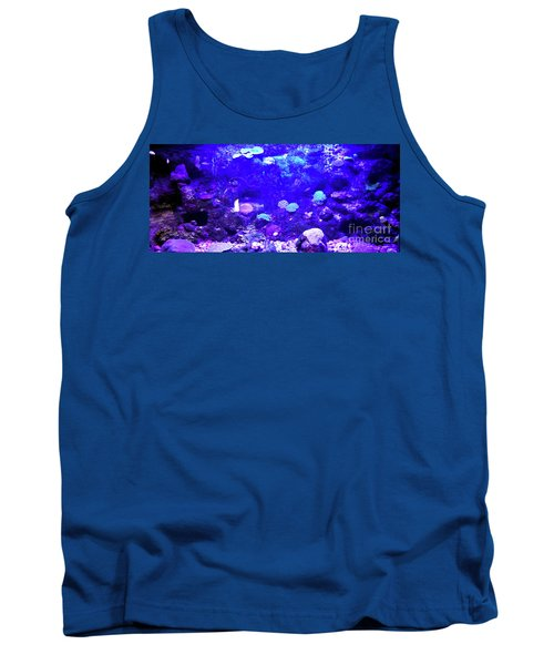 Tank Top featuring the digital art Coral Art 2 by Francesca Mackenney