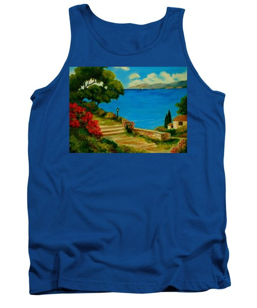 Corfu-greece Tank Top