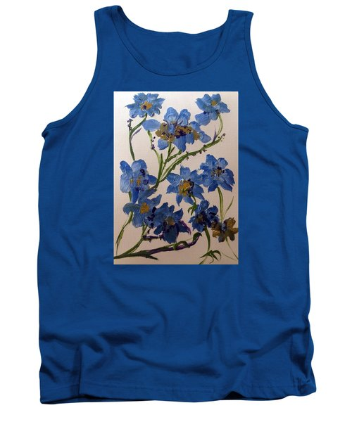 Cornflowers Cousins Tank Top