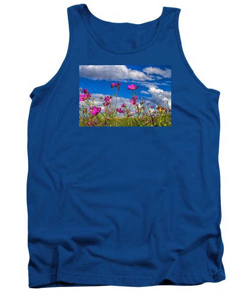 Cosmos Sky Tank Top by Alana Thrower