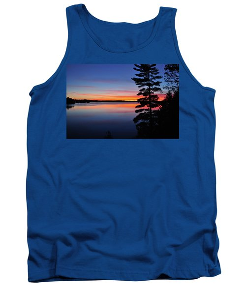 Cottage Sunset Tank Top by Keith Armstrong