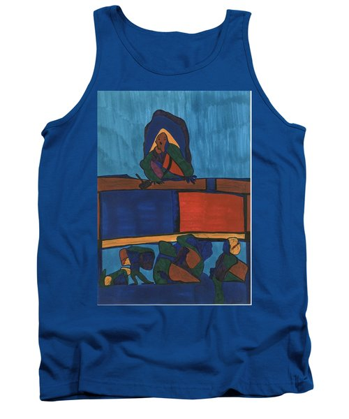 Courtroom  Tank Top by Darrell Black