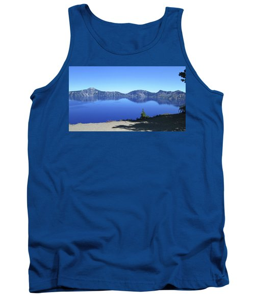 Tank Top featuring the photograph Crater Lake by Tony Mathews