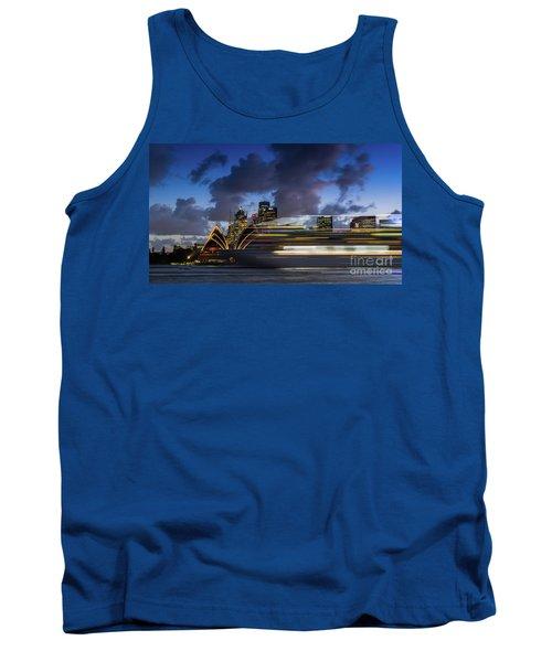 Cruise Ship Sydney Harbour Tank Top