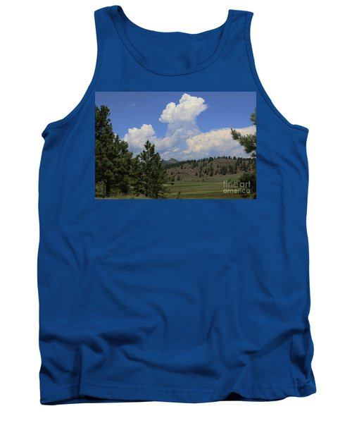 Crystal Peak Colorado Tank Top by Jeanette French
