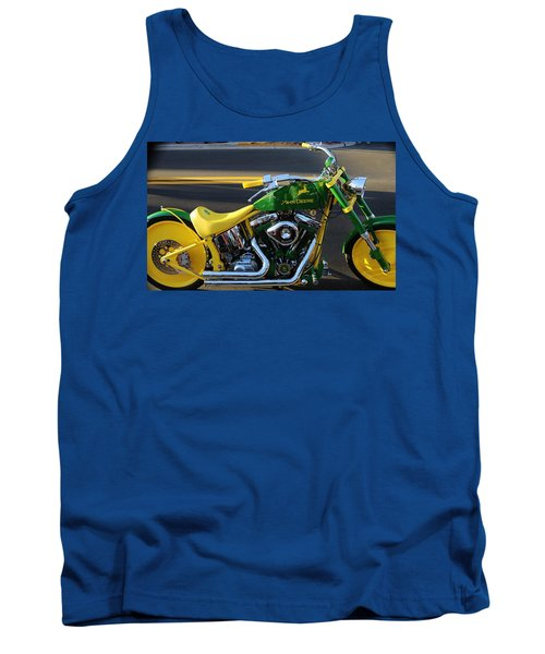 Custom Motorcycle Tank Top