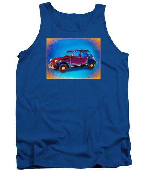 Cute Little Car Tank Top