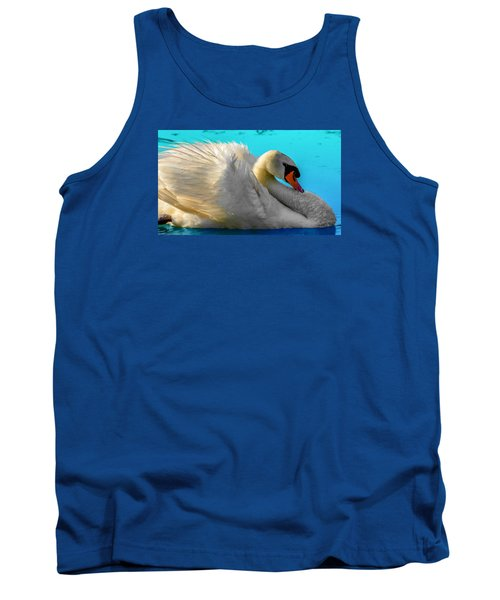 Tank Top featuring the photograph Cygnus Shine 2 by Brian Stevens